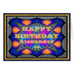 Name and Age Birthday Card
