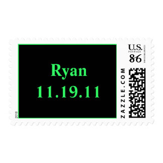 Name and Date Stamp