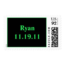 Name and Date Postage