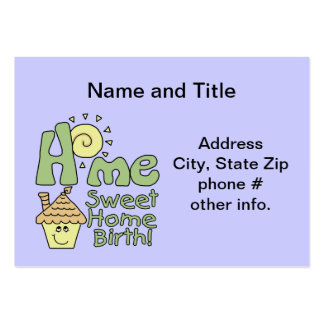 Name and Title Business Cards