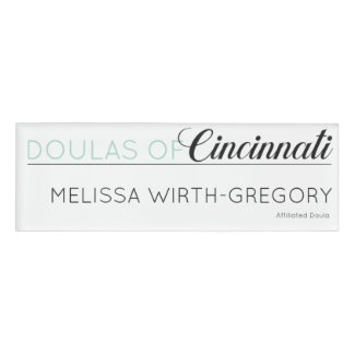 Name Badge - Melissa
