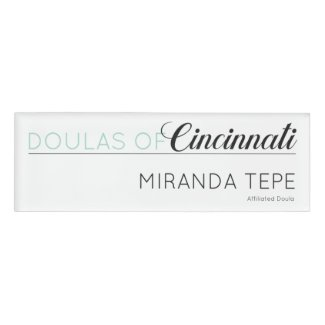Name Badge - Miranda