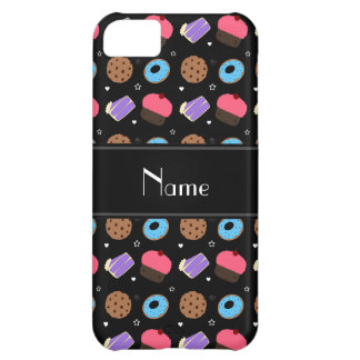 Name black cupcake donuts cake cookies iPhone 5C covers