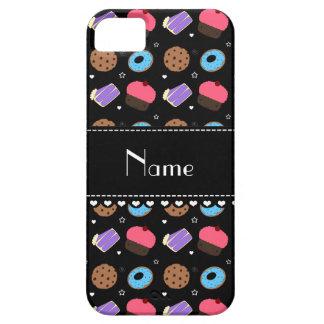 Name black cupcake donuts cake cookies iPhone 5 cases