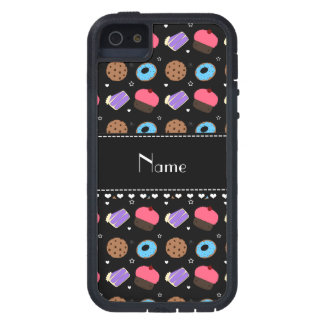 Name black cupcake donuts cake cookies iPhone 5 case