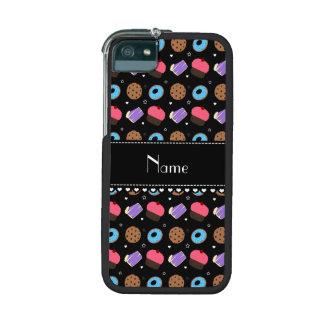 Name black cupcake donuts cake cookies iPhone 5/5S covers