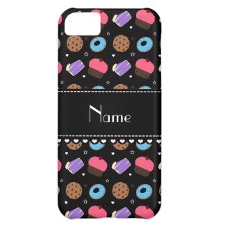 Name black cupcake donuts cake cookies iPhone 5C cover