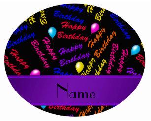 Happy Birthday Balloons With Names ~ Happy birthday rainbow balloon american clothing & apparel zazzle