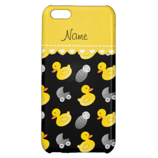 Name black rubberduck baby carriage iPhone 5C case
