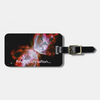 Name, Butterfly Nebula in Scorpius space image Luggage Tag