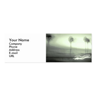 Name card: Palm Tree Business Cards