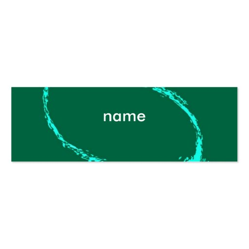 Name card template double sided mini business cards pack for Double sided business cards template