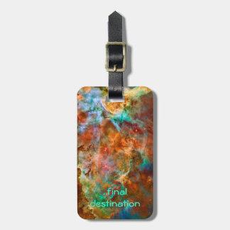 Name, Carina Nebula in Argo Navis space images Luggage Tag