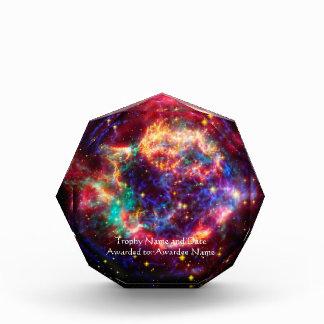 Name Cassiopeia, Milky Ways Youngest Supernova Acrylic Award
