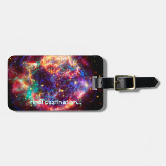 Name,  Cassiopeia, Milky Ways Youngest Supernova Bag Tag