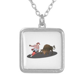 NAME: Clown and Bull 1-No-Text Custom Jewelry