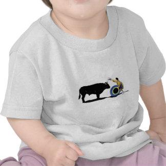 NAME: Clown and Bull-No-Text Tee Shirts