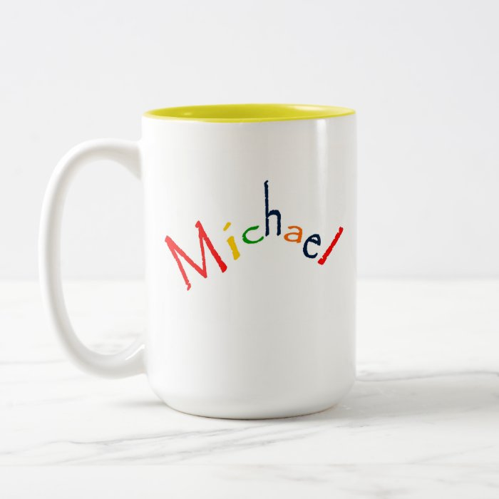 Name cup of Michael