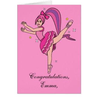 Name Customizable Recital Congratulations! Greeting Card