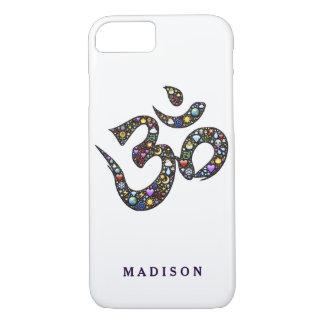 Name cute ohm emoji om symbol emojis hipster yoga iPhone 7 case