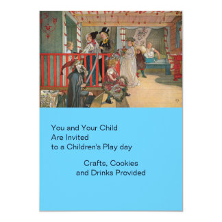Name Day at the Storage House 5x7 Paper Invitation Card