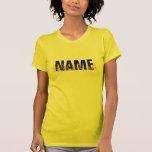 Name Decor GOLD T Shirts