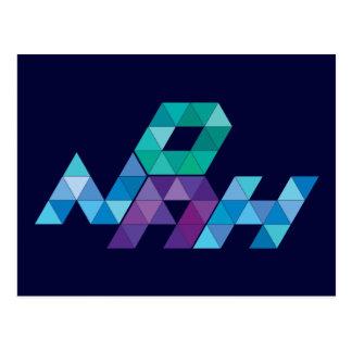 Name Design - Noah Post Card