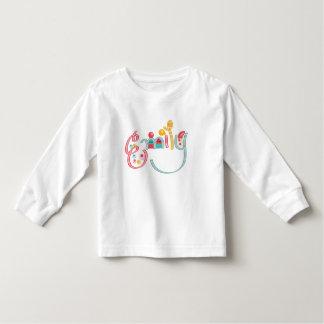 name Emily Toddler T-shirt