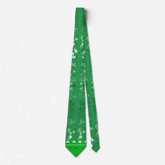 Name green baby bottle rattle pacifier stork tie