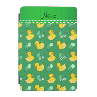 Name green rubberduck baby carriage iPad mini cover