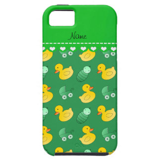 Name green rubberduck baby carriage iPhone SE/5/5s case