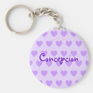 Name in Purple Keychain
