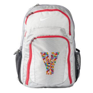 Name Initial Y YY YYY Nike Performance Backpack