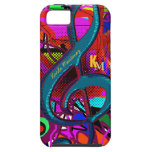 name initials clave musical note iPhone 5 case