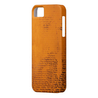 """""""Name"""" iPhone 5 Case"""
