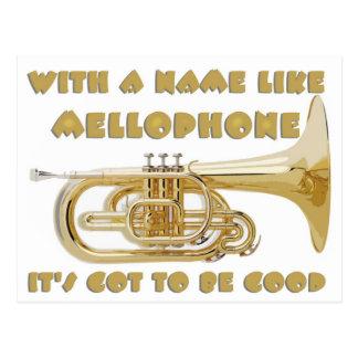 Name Like Mellophone Postcard