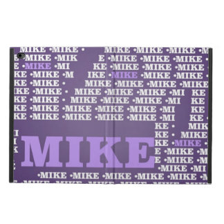 Name-Made of words-mike Powis iPad Air 2 Case