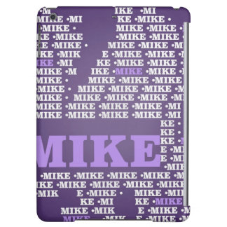 Name-Made of words-mike Case For iPad Air