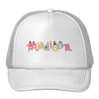 name Madison Trucker Hat