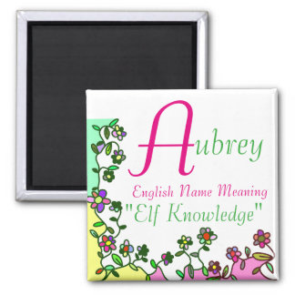 Name Magnet Meaning, Aubrey: Elf Knowledge
