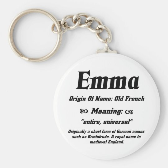 Name Meaning  Emma  Keychain  f506585778b3