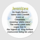 Name  Meaning Jennifer Stickers