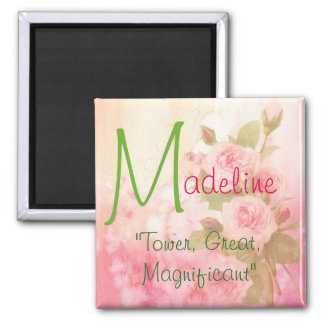Name Meaning Magnet, Madeline Magnet