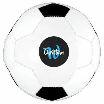 Name Monogram Customized Soccer Ball