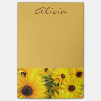Name/Monogram Daisy Post-It Notes Post-it® Notes