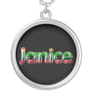 Name Necklace ~ Janice~
