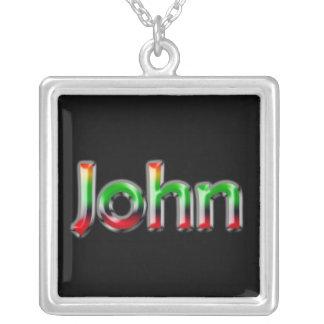 Name Necklace ~ John ~