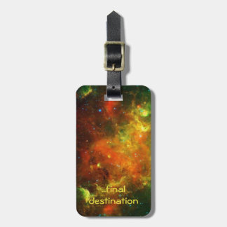 Name, North American and Pelican Nebulae Luggage Tag