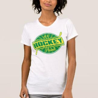 Name & Number Back Print Hockey Aunt T-Shirt