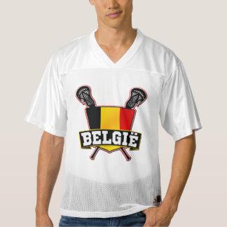 Name & Number Belgie Belgium Lacrosse Men's Football Jersey